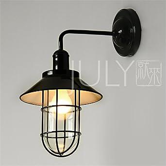 BOOTU lámpara LED y luces de pared Nave industrial retro dormitorio ropa cafe bistro apliques de