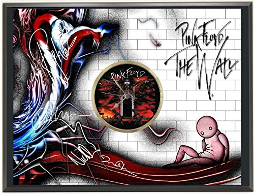 "PINK FLOYD LTD EDITION SIGNATURE SERIES ART FACE CLOCK DISPLAY ""J0"""