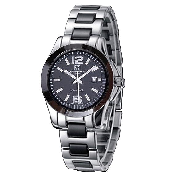 Reloj mujer – automático mecánico – cerámica reloj – luminosa reloj pulsera acero impermeable
