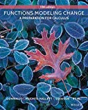 img - for Functions Modeling Change: A Preparation for Calculus book / textbook / text book