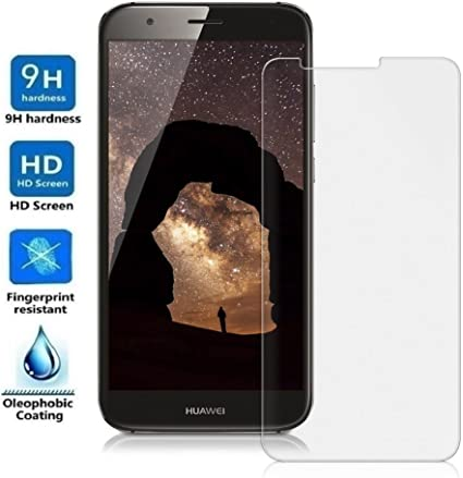 REY Protector de Pantalla para Huawei Ascend G8 GX8 Cristal Vidrio ...