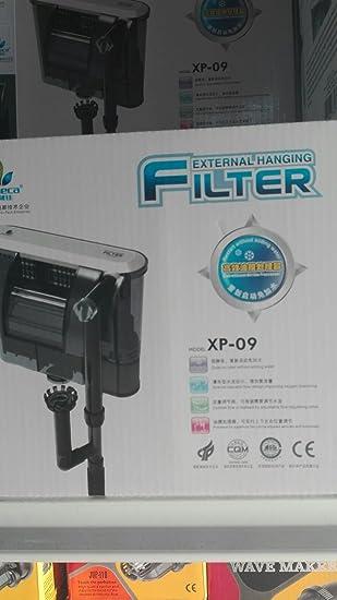 Filtro Para Limpieza Exterior Acuario Filtro JENECA XP-09 Silencioso: Amazon.es: Electrónica