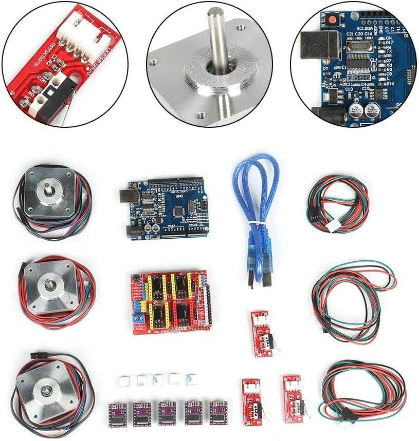 DRV8825 Stepper Motor Driver Endstop A4988 GRBL for 3D Printer FILFEEL CNC Controller Kit CNC Kit CNC Shield