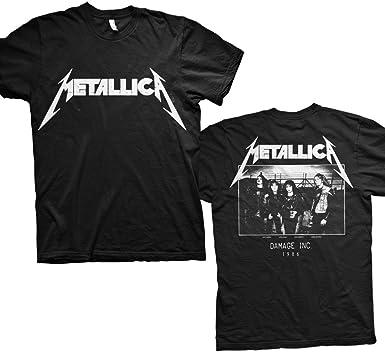 Metallica MOP Photo Men/'s Black T-shirt
