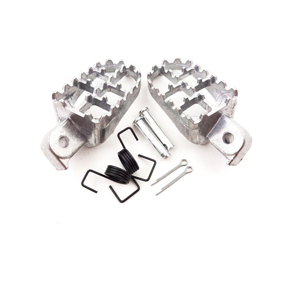 stoneder Remasuri Aluminium FOOTPEGS Fu/ßst/ütze Kn/öpfen f/ür Pit Dirt Motor Bike Motorrad XR50R CRF50/CRF70/CRF80/Crf100/F PW50/PW80/TW200