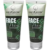 Oxyglow Neem and Tulsi Face Wash, 100ml (Pack of 2)