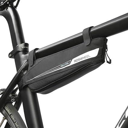 FREEML Serie de Viento Roto Bicicleta triángulo Bolsa Bolsa de ...