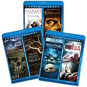 6-Film Horror BluRay Collection: Salvage / Mortuary / The Final Patient / Salem Witch Trials / Haunting of Winchester House / I Am Omega [Blu-ray]