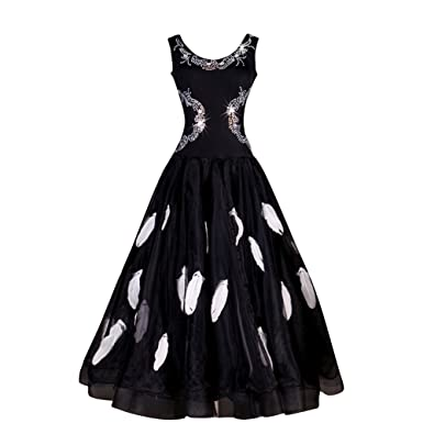 Amazoncom Yc Well Standard Ballroom Dance Dress 4colors
