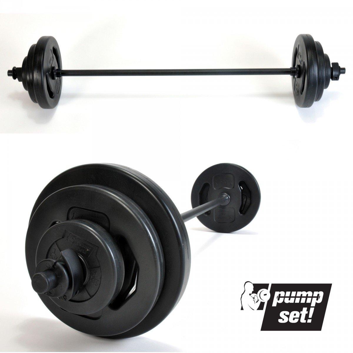 Original pumpset! 20kg - Juego de barra de pesas de 20 kg