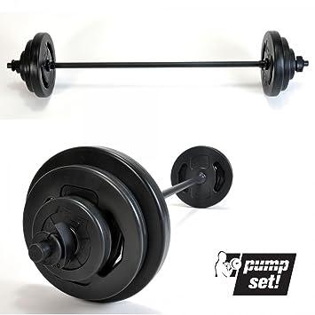 20kg - Juego de barra de pesas de 20 kg: Amazon.es: Deportes y aire libre