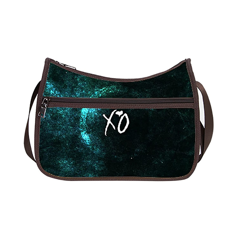 Weeknd Xo Custom Oxford Fabric Classic Hobo Handbag (Twin Sides)