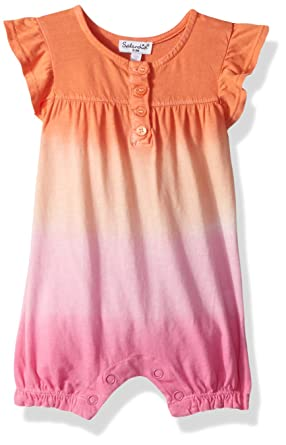 9435fc925e4 Amazon.com  Splendid Baby Girls Dip Dye Romper  Clothing