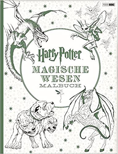 Harry Potter: Magische Wesen Malbuch: Amazon.de: Bücher