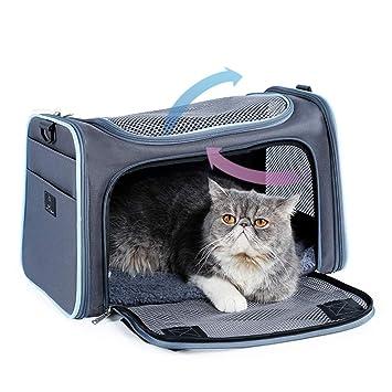Airline - Bolsa de Transporte para Perros y Gatos con Bolsillos ...