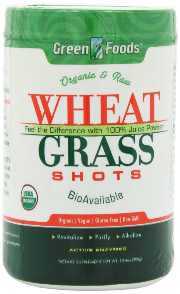 Green Foods Wheat Grass Shots, 10.6 Ounce