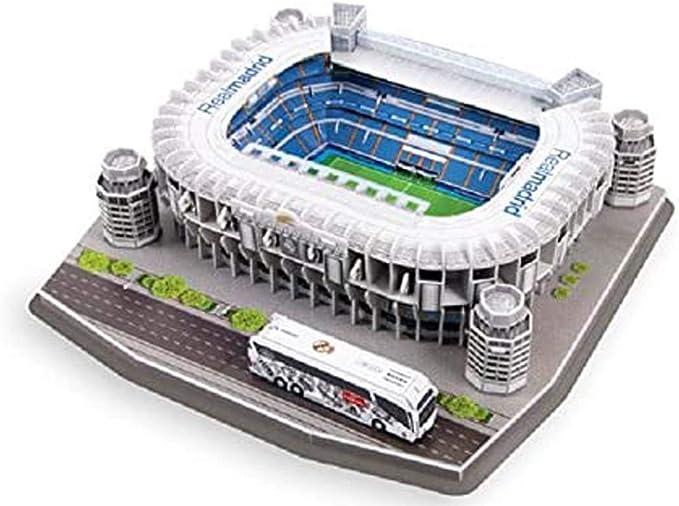 Mankvis Puzzle 3D Estadio Santiago Bernabéu Estadio Modelo, el ...