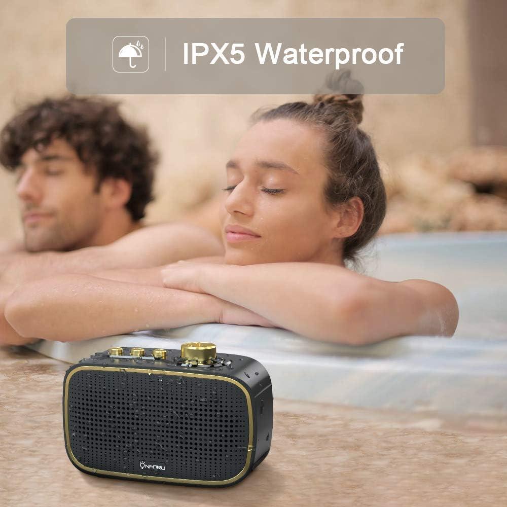 TF-Karte junchuang Retro Bluetooth-Lautsprecher Kabelloser Lautsprecher Schallplatte mit altmodischer Bluetooth 3.0-Funkverbindung im klassischen Stil
