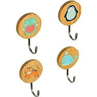 Planet Buddies Kapstokhaken, Leuke Zelfklevende Muurdecoratie & Alternatief voor Kapstok, Wandhaken voor Ophangen van…
