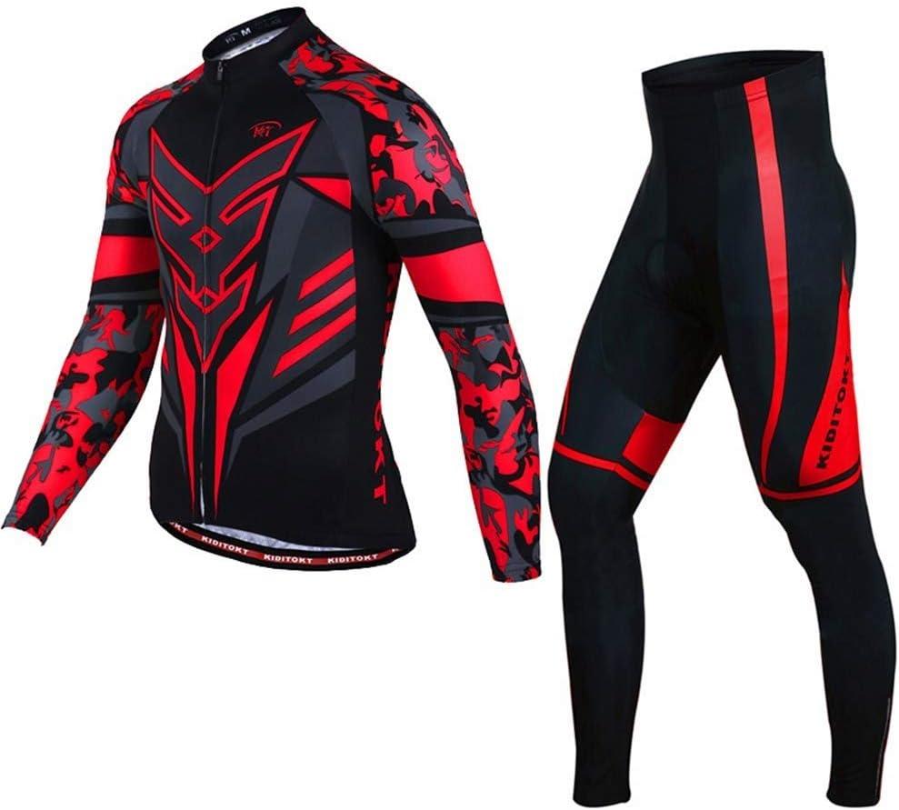 HZTWS - Conjunto de maillot de ciclismo de manga corta, color blanco