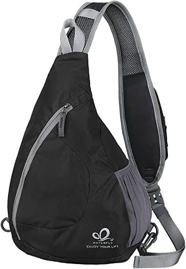 Sling Chest Backpack Crossbody Shoulder Triangle Daypacks Cycling Walking Hiking