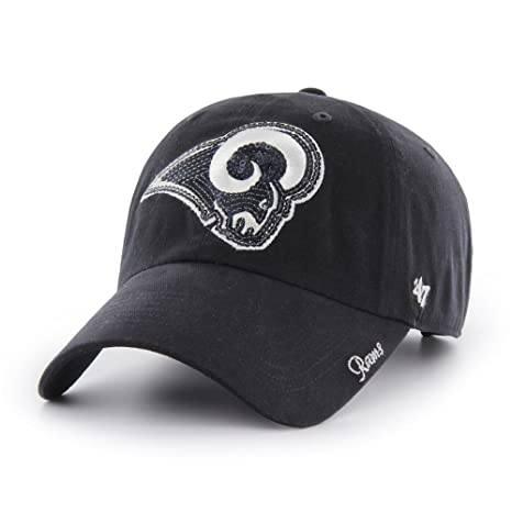 check out 3fd78 fa2ce Image Unavailable. Image not available for. Color   47 Los Angeles Rams  Women s Sparkle Brand Hat