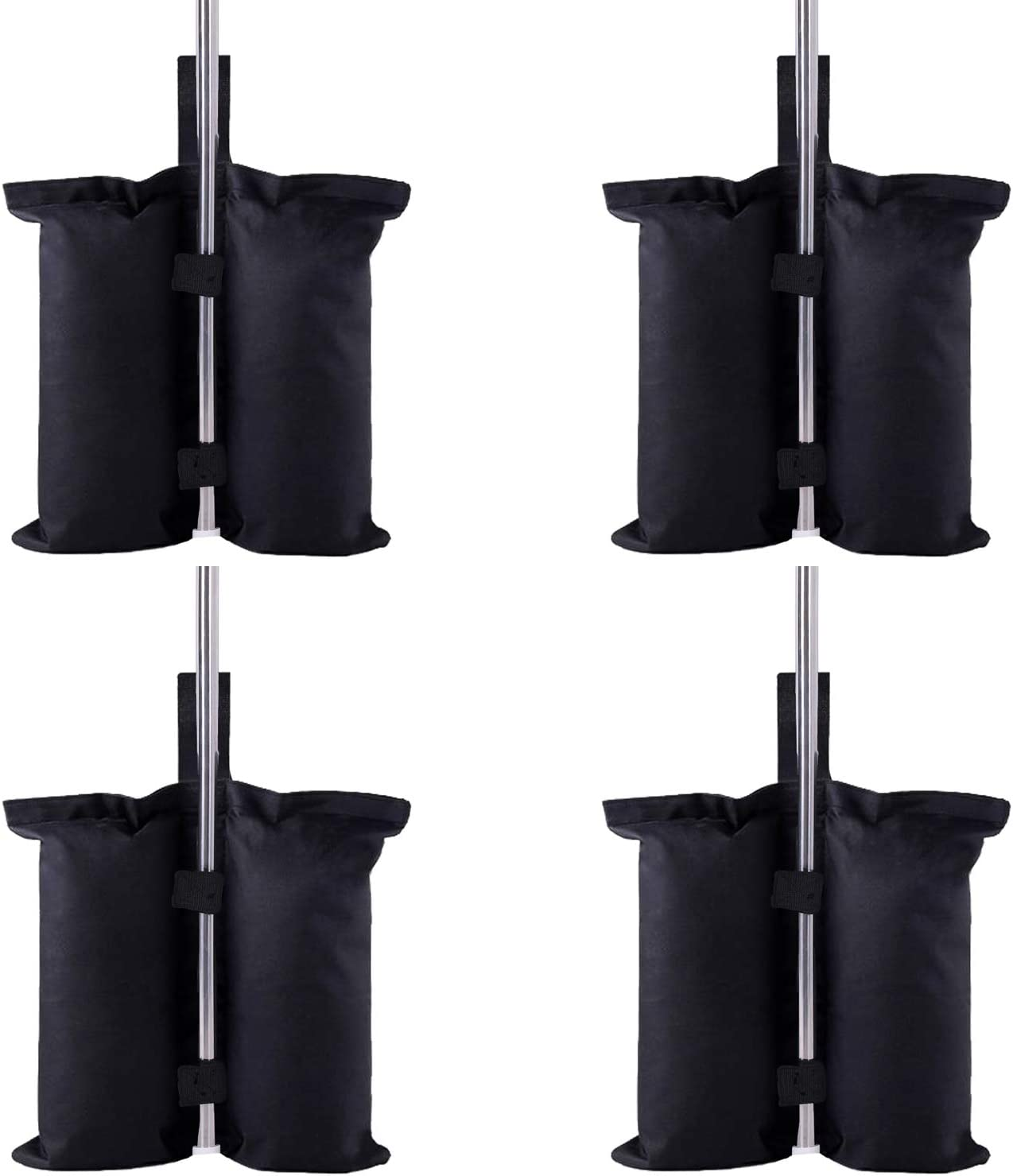 Canopy Bag, Canopy Weight Bags, Leg Weights for Pop up Canopy Tent Outdoor Furniture Sun Shelter Legs, Set of 4( Sand not Include)