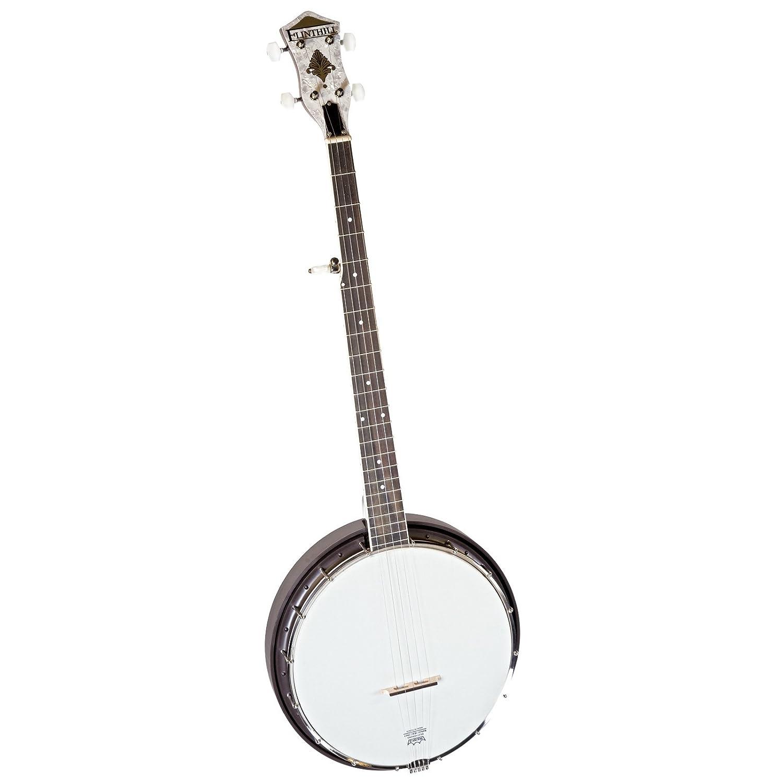 amazon flinthill fhb55 resonator banjo musical instruments 12 String Acoustic Electric Guitar