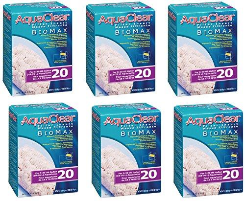 Aquaclear 20-gallon Biomax (6 Pack)