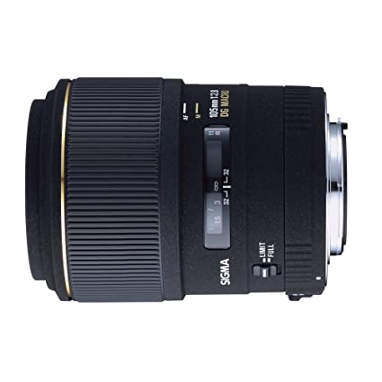 Sigma 105mm f/2 8 EX DG Medium Telephoto Macro Lens for Canon SLR Cameras
