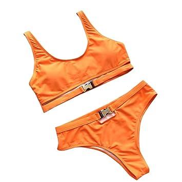 c0c17839aa0580 Amazon.com  Women Sexy Cutout Bikini