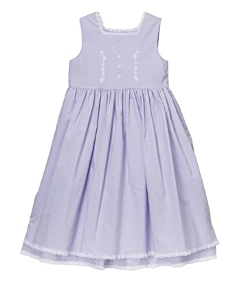f99012fdf Amazon.com: Strasburg Children Little Girls Easter Dress Beach Portrait  Blue Pink Lavender White: Clothing