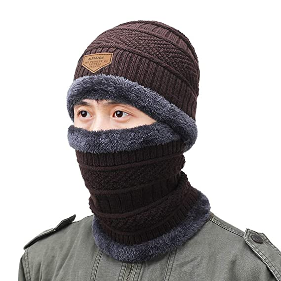 0d593326d6c ALPSAZON Winter Hats for Men   Women