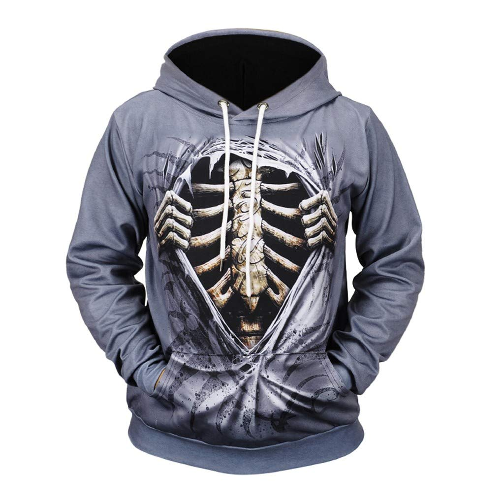 Goutique Unisex Hooded Sweatshirts 3D Printed Hoodies Colorful Pattern Autumn Printing Long Sleeve Sweatershirt Tops by Goutique