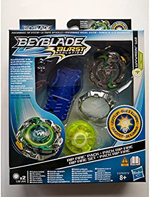 Hasbro - Beyblade E1079. Peonza Wyvron W2. Pack Ripe Fire.: Amazon ...