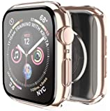 Smiling Case Compatible with Apple Watch Series 6/SE/Series 5/Series 4 40mm with Built in Tempered Glass Screen…
