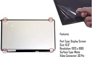 AJParts NEW 15.6' LAPTOP LED FHD AG DISPLAY SCREEN PANEL FOR IBM LENOVO IDEAPAD Z51-70 Full HD