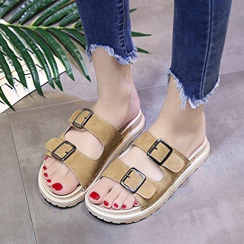moda zapatillas a Señoras FLYRCX de de verano EZxaRq