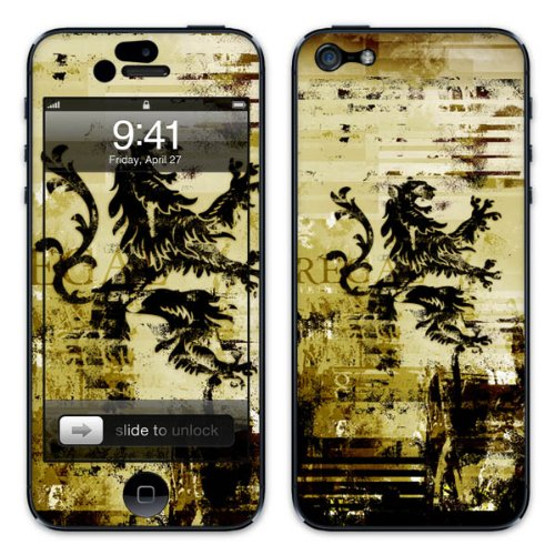 Diabloskinz B0081-0034-0026 Vinyl Skin für Apple iPhone 5/5S Regal
