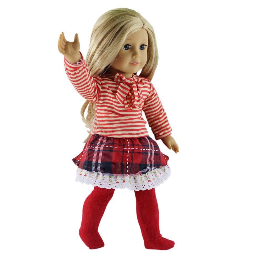 Amazon.es: qinsuee American Girl muñeca ropa Set para American Girl ...