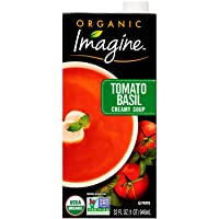 Deals on Imagine Organic Creamy Soup, Tomato Basil, 32 oz