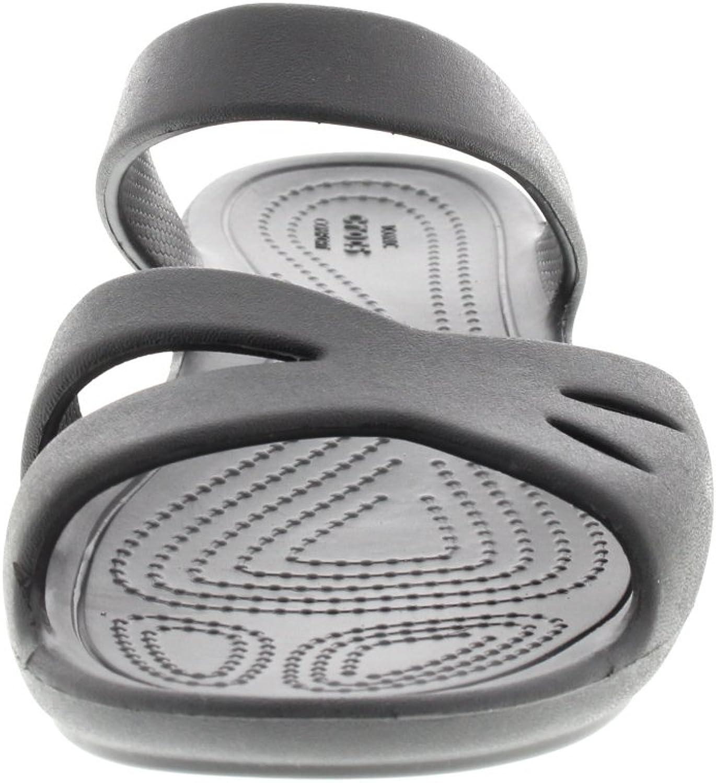 Graphite Kelli OL Sandal Crocs