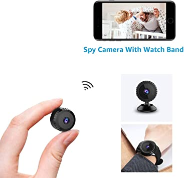 Mini Camera Espion WiFi,aobo Micro Caméra Surveillance Sans Fil ...