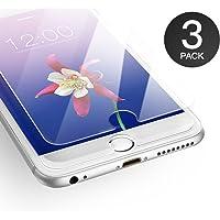 AXHKIO Pellicola Compatibile con iPhone 6/ iPhone 6s Vetro Temperato (4.7 Pollici)-0,25mm, HD Trasparente, 9H Durezza, 3D Touch