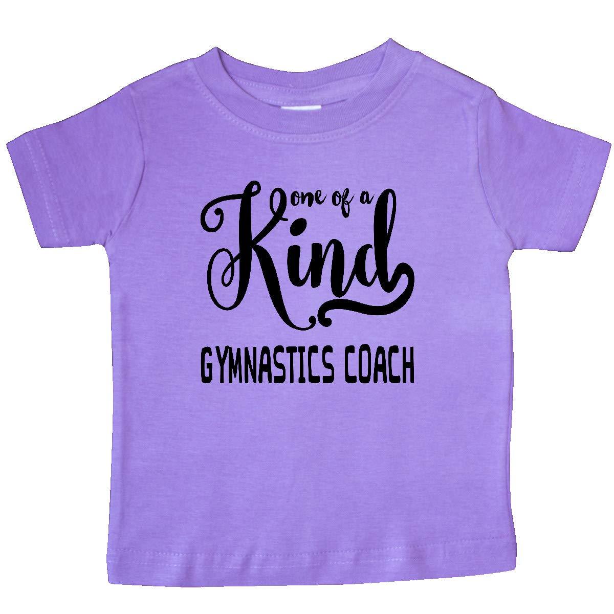 inktastic Gift for Gymnastics Coach 1 of a Kind Gymnastics Baby T-Shirt