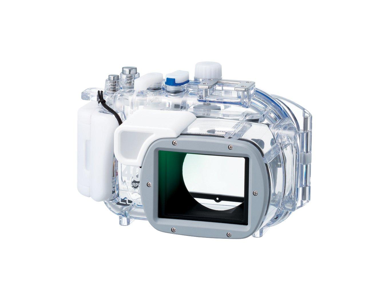 パナソニック デジタルカメラケース LUMIX TZ5用マリンケース 防水 透明 DMW-MCTZ5   B0014B5XZG
