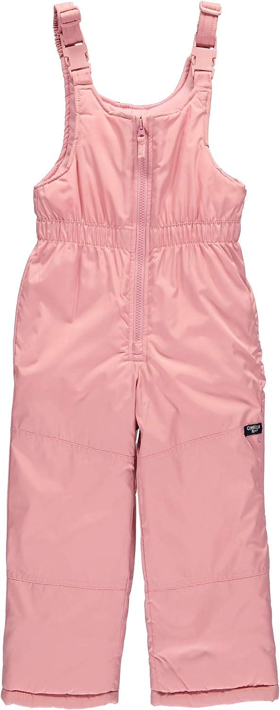 OshKosh BGosh Girls Ski Jacket and Snowbib Snowsuit Outfit Set