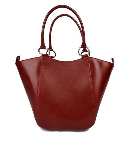 55d6bf1e09a3bf Damen henkeltasche leder handtasche rot leder schultertasche faltbare tasche  leder handtasche einkaufstasche shopping shopper beutel
