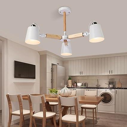 Modeen Lámparas de Techo de Madera Moderna Lamparas Diseño ...