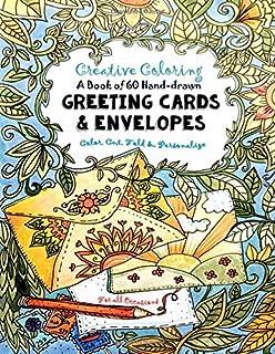 Amazon.com: Happy Birthday Kid Set of Coloring Greeting Cards - 12 ...